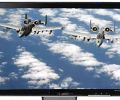 A-10 Thunderbolt Screen Saver for Wide Screen Displays Screenshot 0