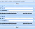 FoxPro Copy Tables To Another FoxPro Database Software Screenshot 0