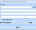 MS SQL Server Upload or Download Binary Data Software Screenshot 0