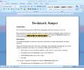 Bookmark Jumper for MS Word(1) Screenshot 0