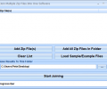 Join Multiple Zip Files Into One Software Screenshot 0