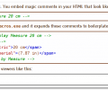 HTML Static Macros Screenshot 0