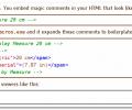 HTML Static Macros Screenshot 0
