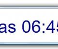 Configurable Desktop Clock Screenshot 0