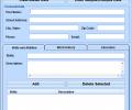 MS Word High School Resume Template Software Screenshot 0