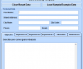 MS Word Resume Template Software Screenshot 0