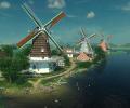 Dutch Windmills 3D Screensaver Screenshot 0