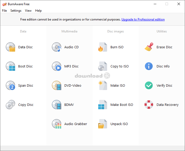 Download burnaware_free_11.3.exe Free - BurnAware Free 11 ...