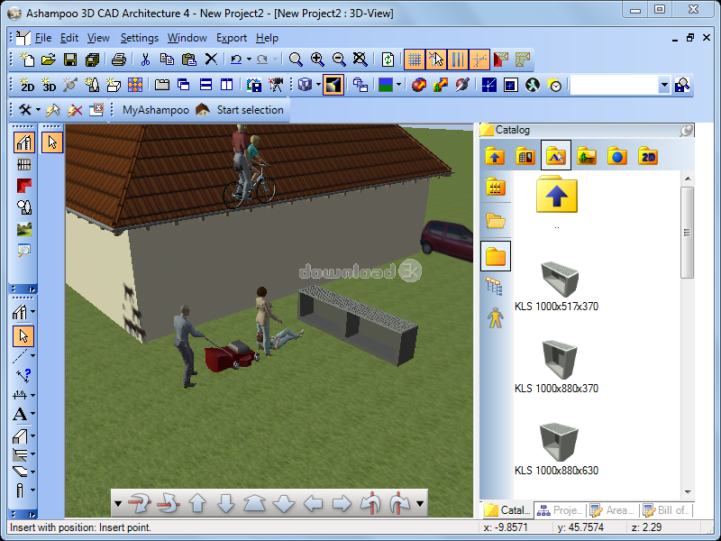 ... Ashampoo 3D CAD Architecture 6 Screenshot 4