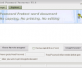 Word Password Protector Screenshot 0