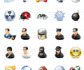 Network Security Icons Screenshot 0
