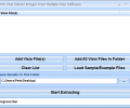 MS Visio Extract Images From Multiple Files Software Screenshot 0