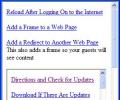 Ricks FREE Web Page Frame and Redirect M Screenshot 0
