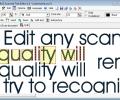 Scanned Text Editor Screenshot 0