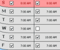 WeekUp Alarm Clock Screenshot 0