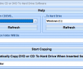 Copy Entire CD or DVD To Hard Drive Software Screenshot 0