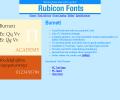 Burnett Font TT Screenshot 0