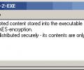 MAXA Text2EXE Screenshot 0