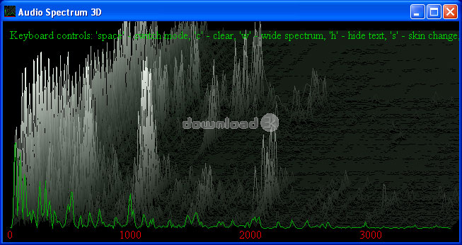 Audio Spectrum 3D 1 3 1 Quick review - Free trial download