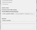 Areca Backup Screenshot 1