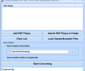 Convert Multiple PDF Files To MS Word Documents Software Screenshot 0