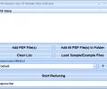 PDF Reduce Size Of Multiple Files Software Screenshot 0