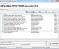 MP3-OGG-WAV-WMA Converter Screenshot 0