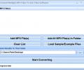 Convert Multiple MP3 Files To AAC Files Software Screenshot 0