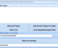 Convert Multiple AAC Files To MP3 Files Software Screenshot 0