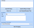 JPG Edit EXIF Data In Multiple Files Software Screenshot 0