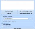 Convert Multiple WMA Files To MP3 or WAV Files Software Screenshot 0