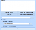 PDF Stamp Multiple Files With Image Software Screenshot 0