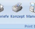 Word Print Buttons Screenshot 0