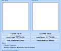 PDF Compare Two Files and Find Differences Software Screenshot 0