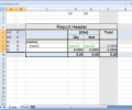 .Net Excel or OpenOffice report generator Screenshot 0