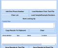 Reverse Phone Lookup Multiple Numbers Software Screenshot 0