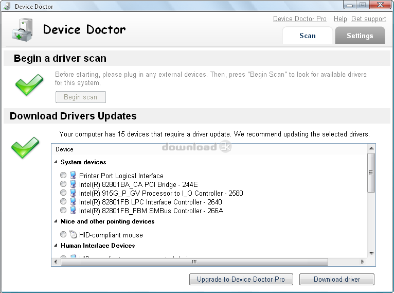 Device Doctor 2 0 Review & Alternatives - Free download