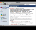 German-English Collins Pro Dictionary for Mac Screenshot 0
