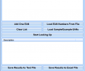 EAN Search and Lookup Multiple Codes Software Screenshot 0