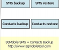 3GMobile SMS + Contacts Backup Screenshot 0