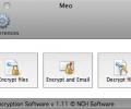 MEO File Encryption for Mac Screenshot 0
