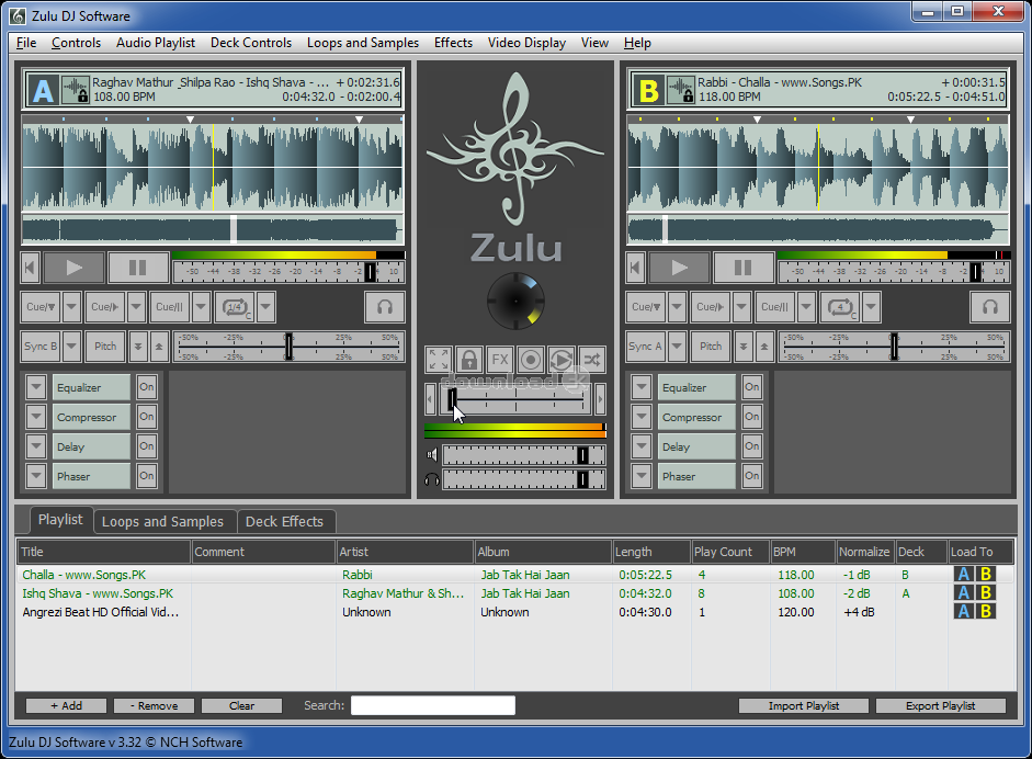 Zulu Free Professional Virtual DJ Software 4 13 Review