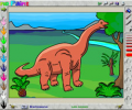 DinoPaint Dinosaur Coloring Book Screenshot 0