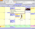 LuxCal Web Based Event Calendar MySQL Screenshot 0