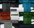 jQuery Horizontal Menu Style 05 Screenshot 0