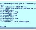 BackupToZip Screenshot 0