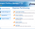 Paragon Partition Manager Free Edition Screenshot 0