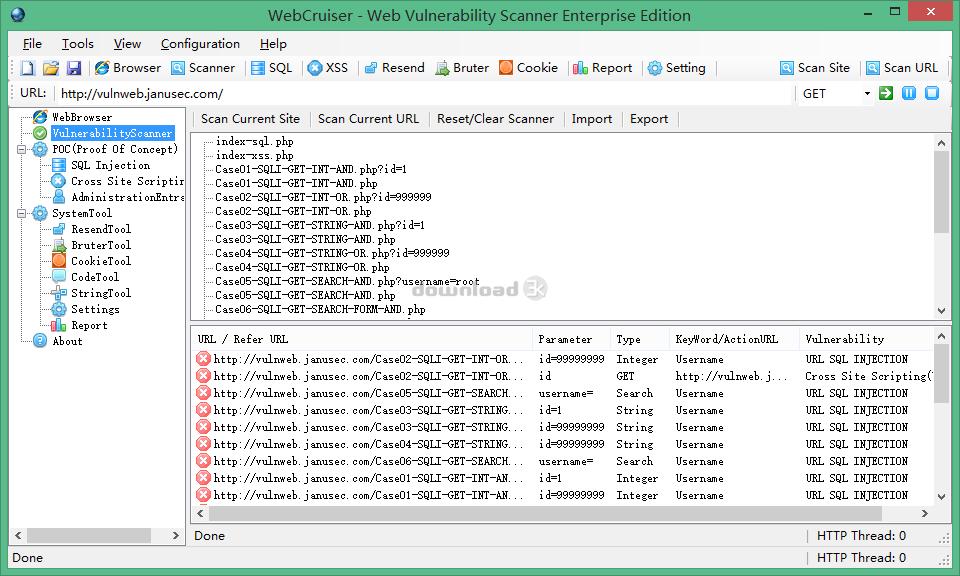 Antivirus report for WebCruiserPro zip - WebCruiser - Web