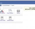 PHP AdminPanel Website Back End Script Screenshot 0