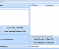 UPC Search and Lookup Multiple Codes Software Screenshot 0
